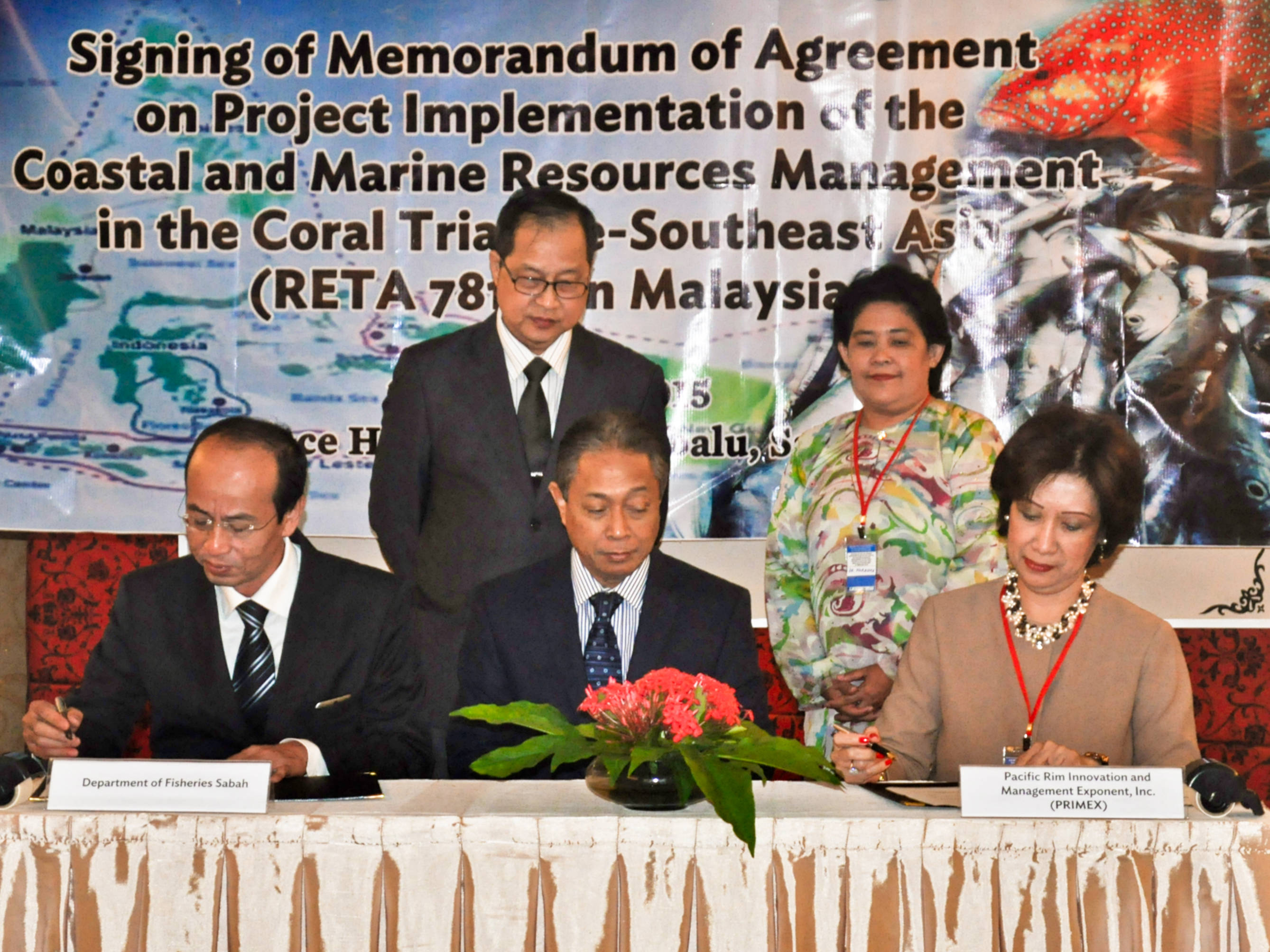 moa signing in KK for CTI SEA