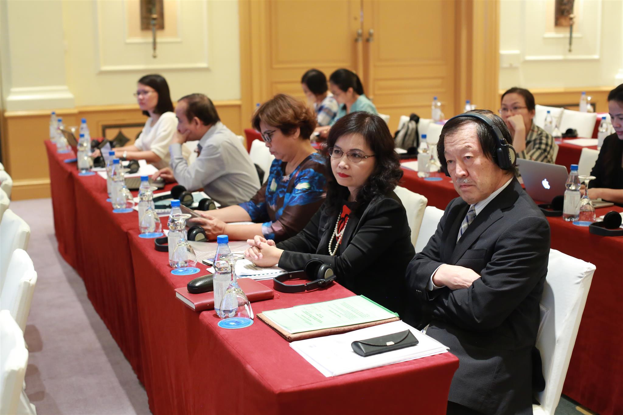 VASS - Prof. Masafumi Nagao, Team Leader and Assoc. Profes. Dr. Dang Thi Thanh Huyen, Deputy Team Leader