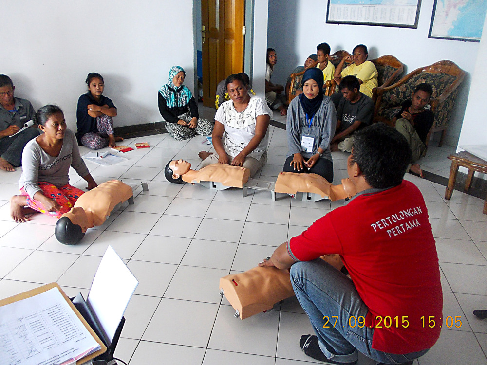 Red cross in RAS - CPR Exercise