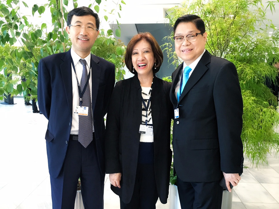 49th ADB Annual Mtg with Xianbin Yao, ECA and JFS